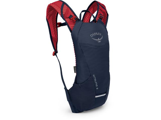 Osprey Kitsuma 3 Hydration Backpack Women, blauw/rood